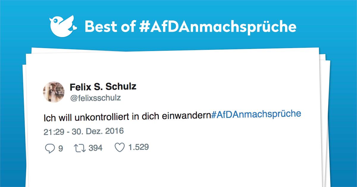 Best of #AfDAnmachsprüche
