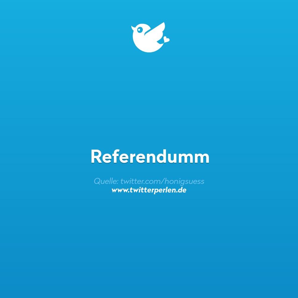 Referendumm