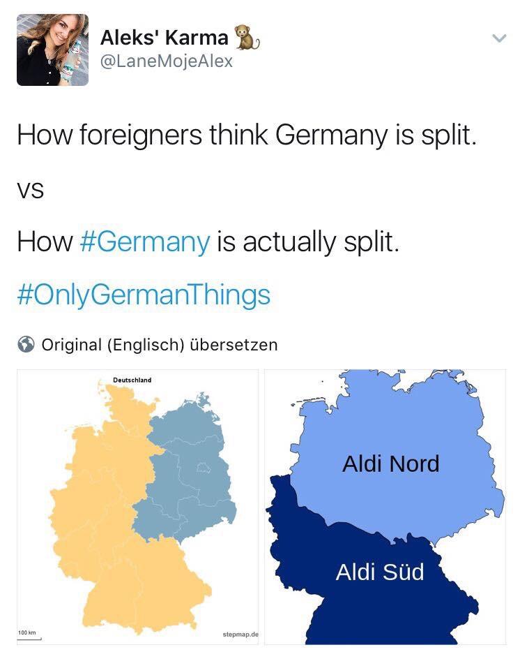 Deutschland ist geteilt