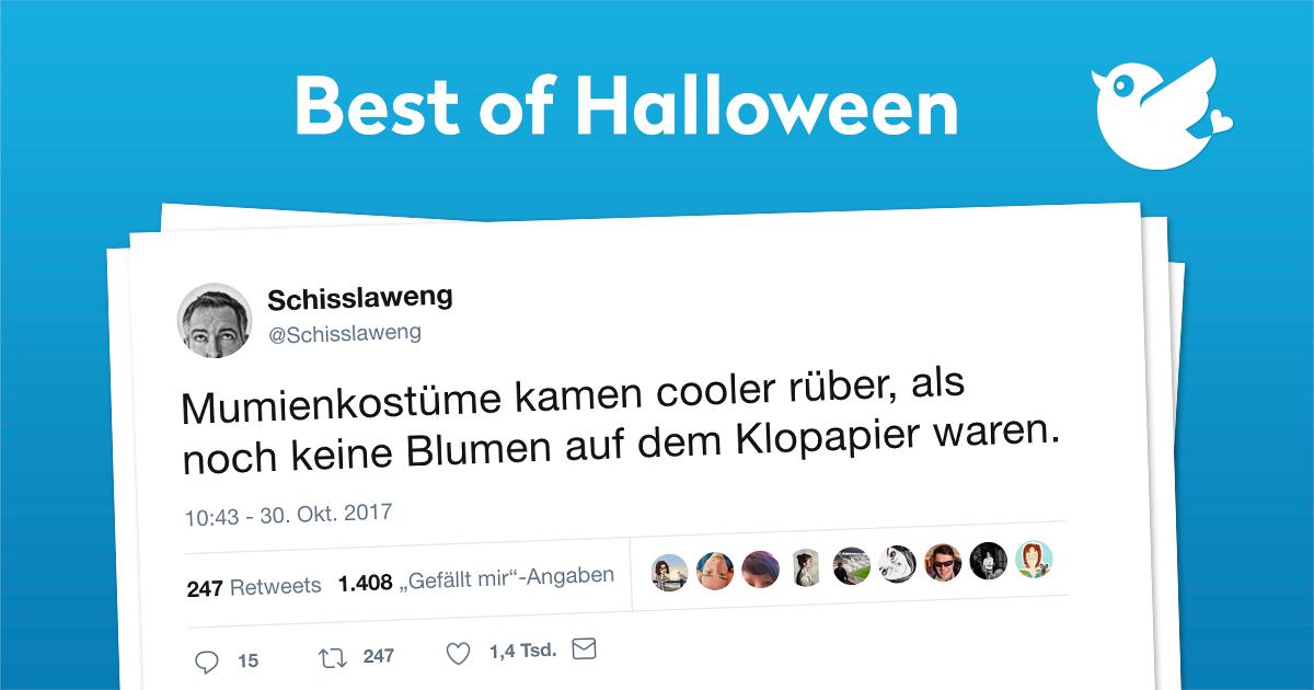Die Besten Tweets Zu Halloween Twitterperlen