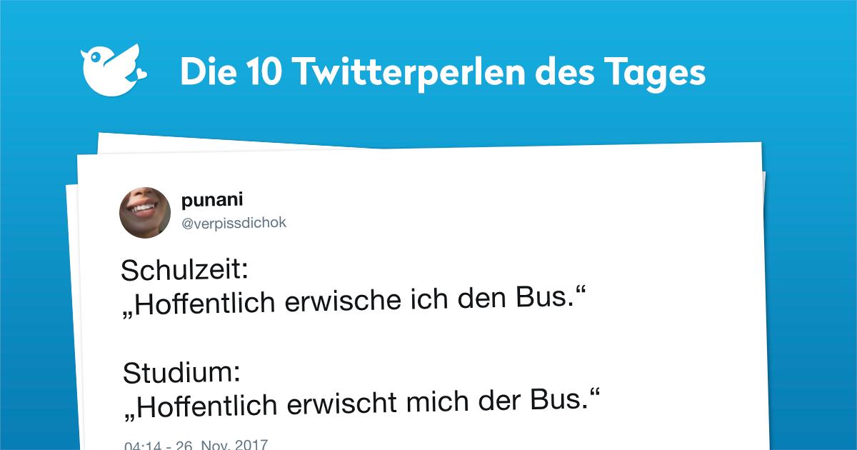 Die 10 Twitterperlen des Tages