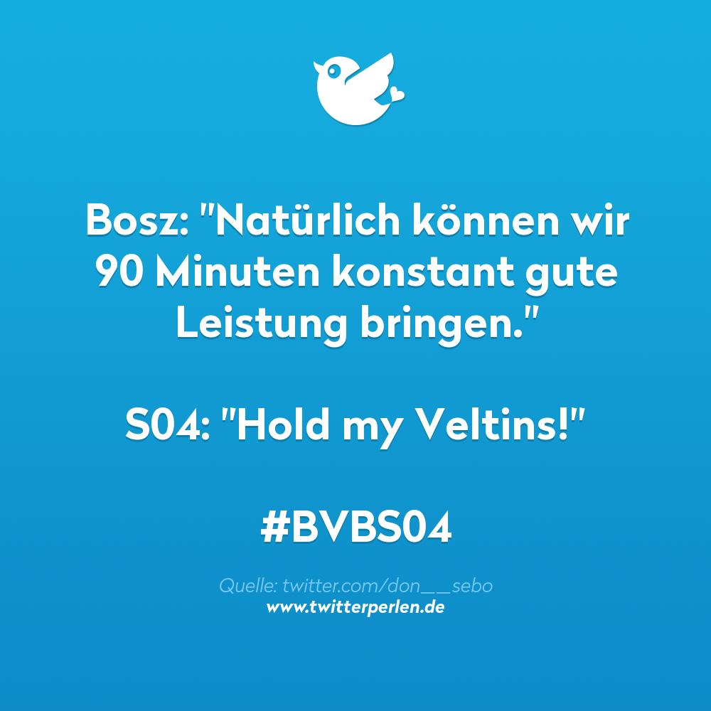 """Bosz: """"Natürlich können wir 90 Minuten konstant gute Leistung bringen."""" S04: """"Hold my Veltins!"""""""
