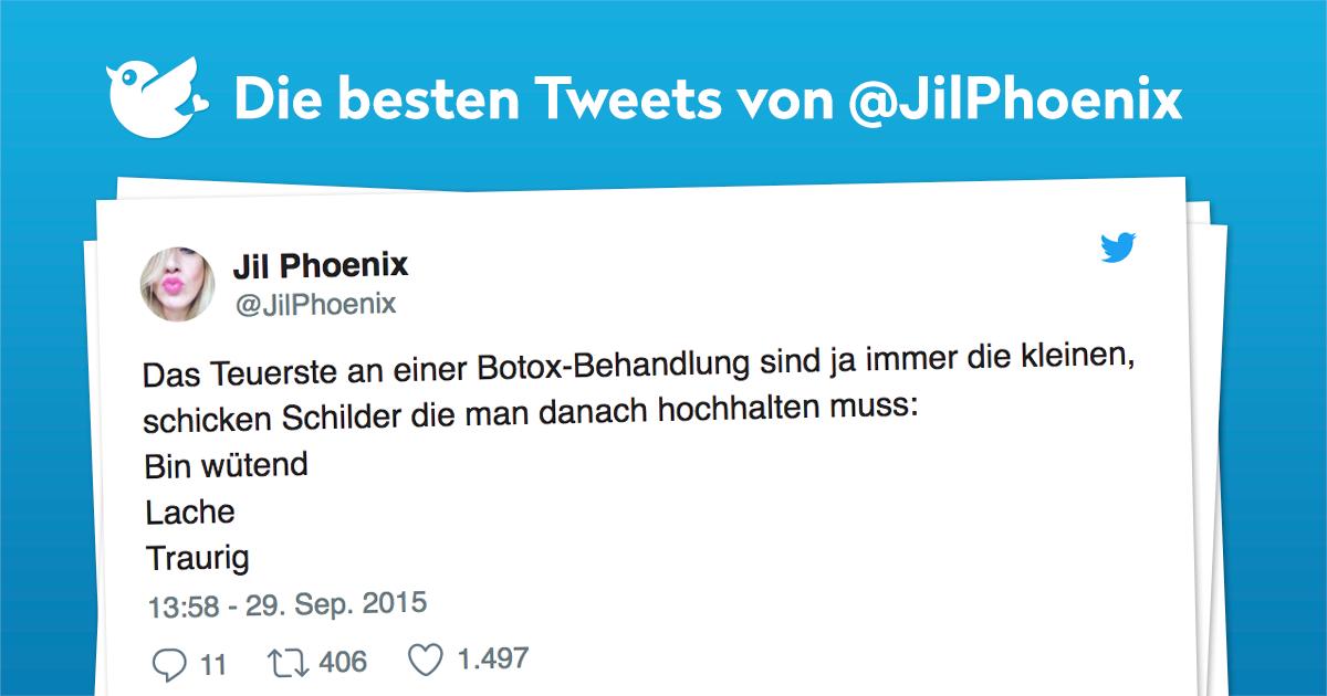 Die besten Tweets von @JilPhoenix