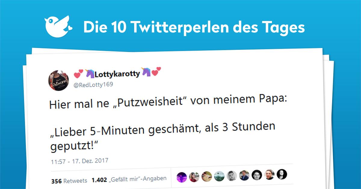 Die 10 Twitterperlen Vom 21 Dezember 2017 Twitterperlen