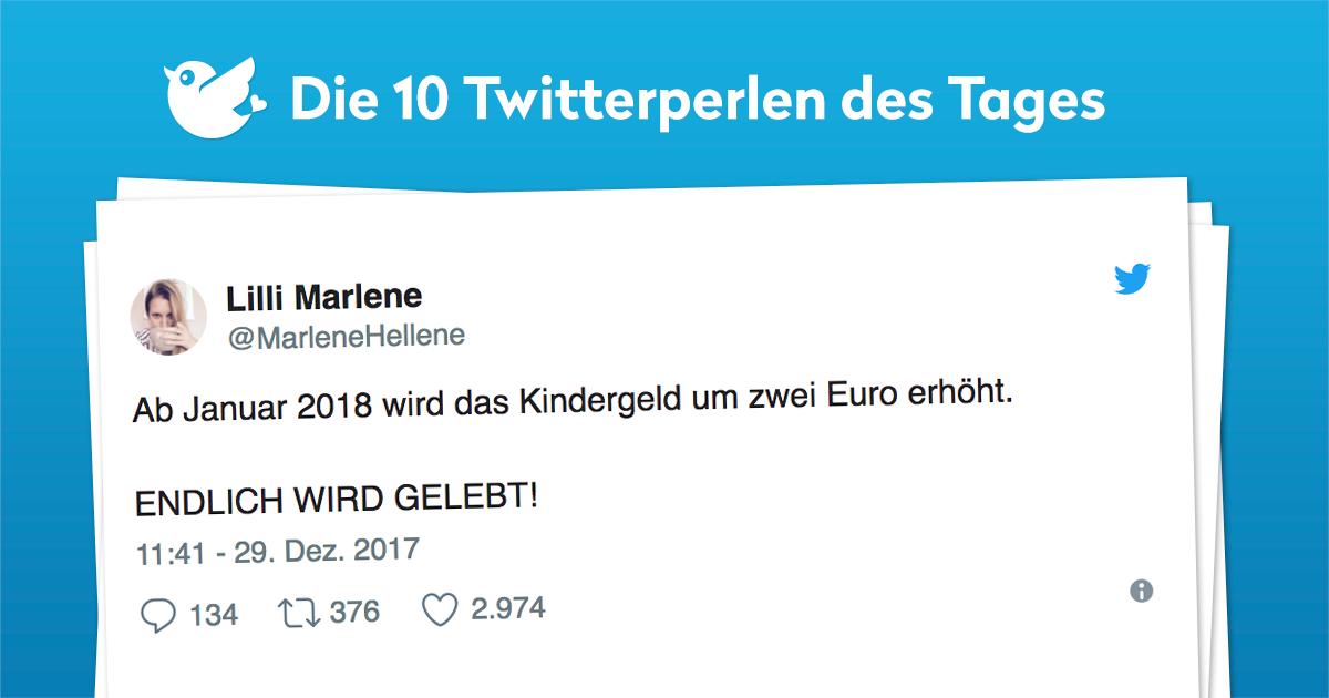 Die 10 Twitterperlen vom 30. Dezember 2017