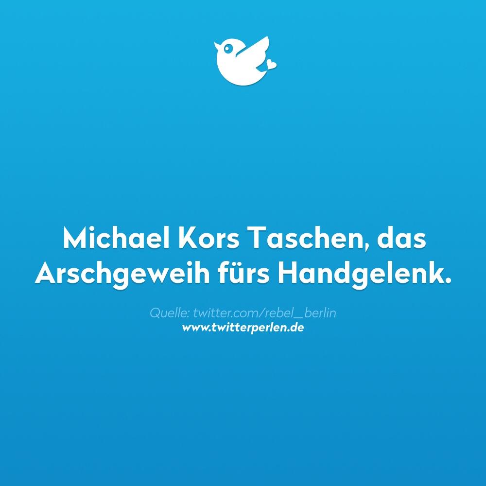 Michael Kors Taschen, das Arschgeweih für's Handgelenk.