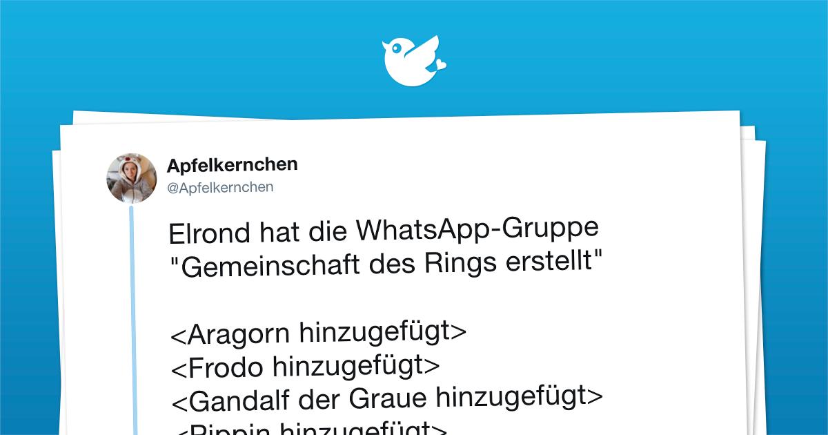 """Elrond hat die WhatsApp-Gruppe """"Gemeinschaft des Rings erstellt"""""""