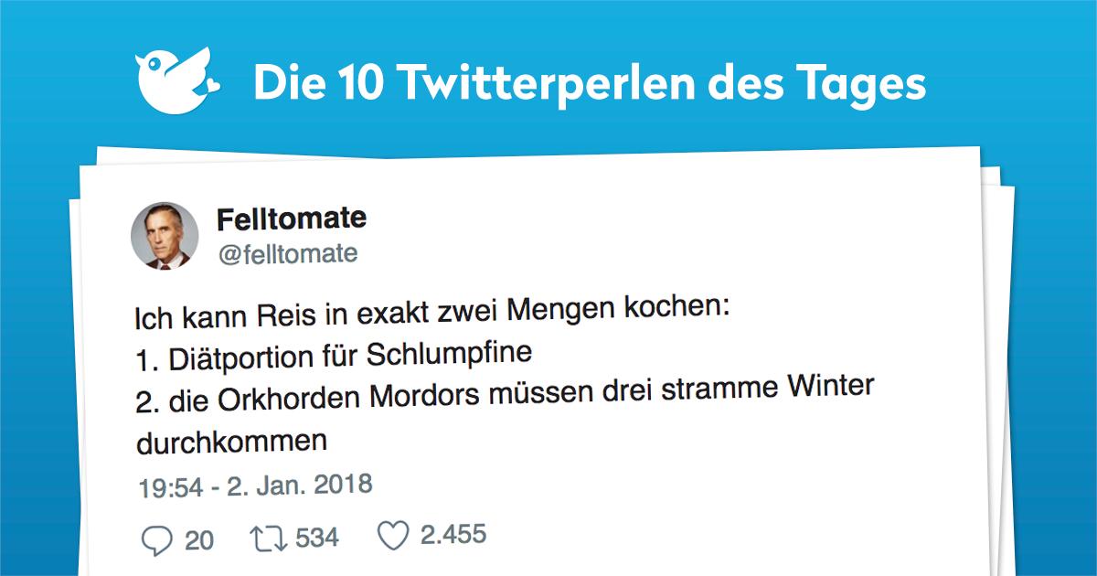 Die 10 Twitterperlen vom 03. Januar 2018