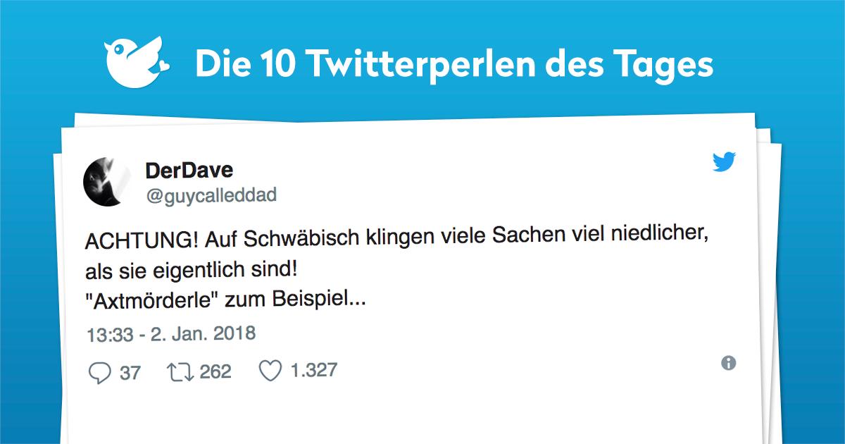 Die 10 Twitterperlen vom 04. Januar 2018
