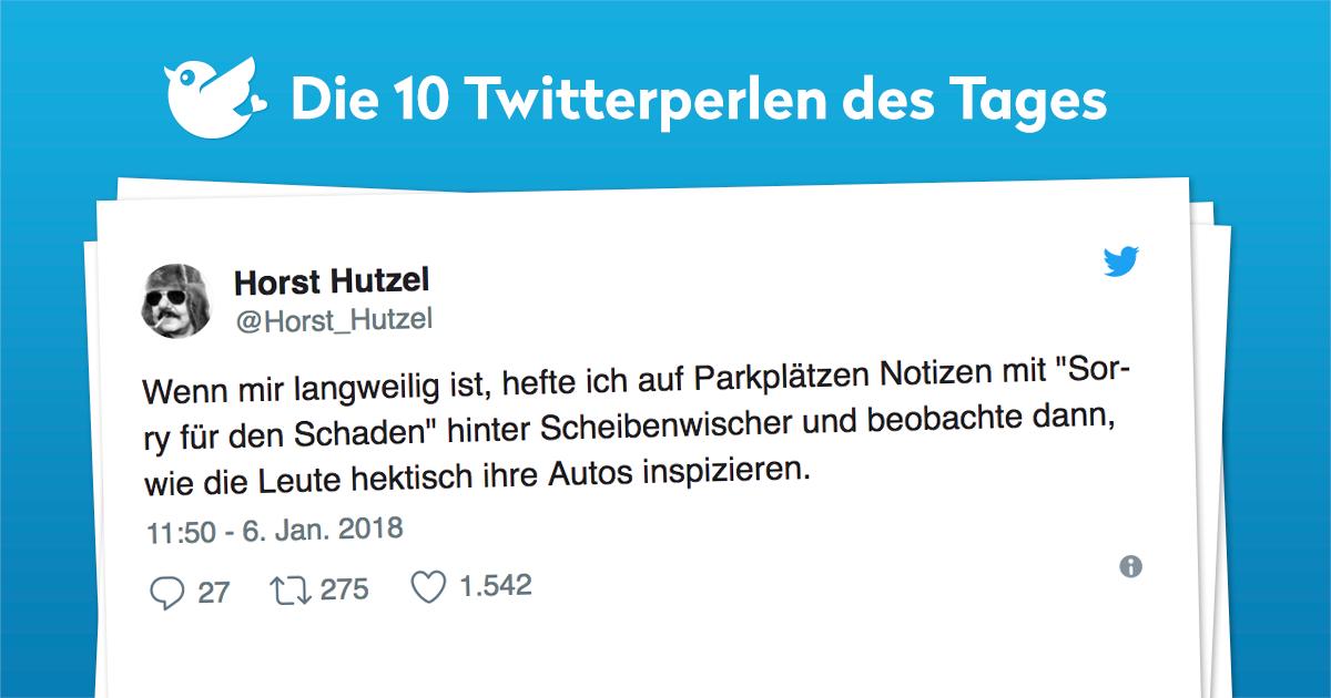 Die 10 Twitterperlen vom 07. Januar 2018
