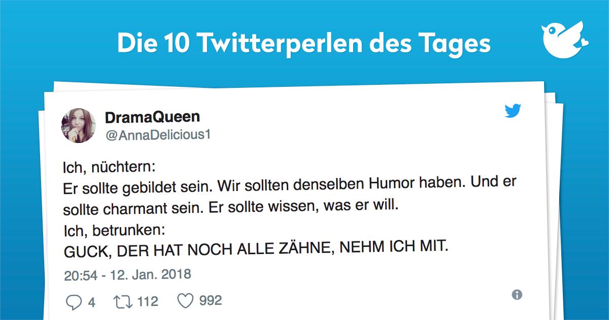 Die 10 Twitterperlen vom 13. Januar 2018