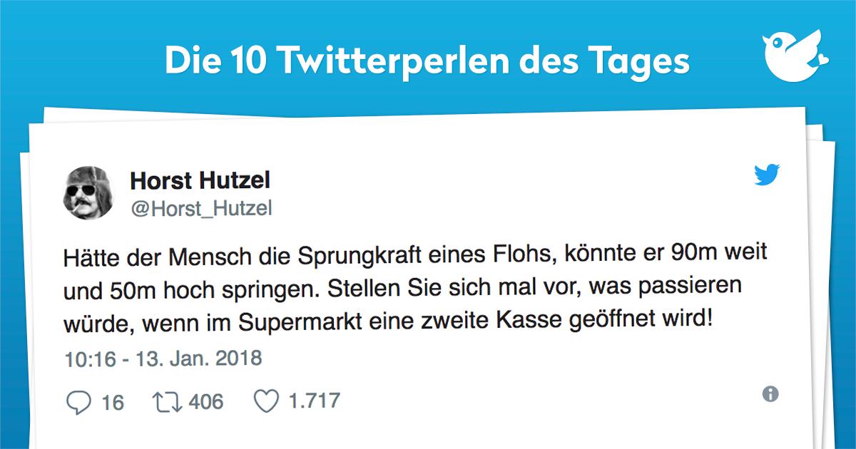 Die 10 Twitterperlen vom 15. Januar 2018