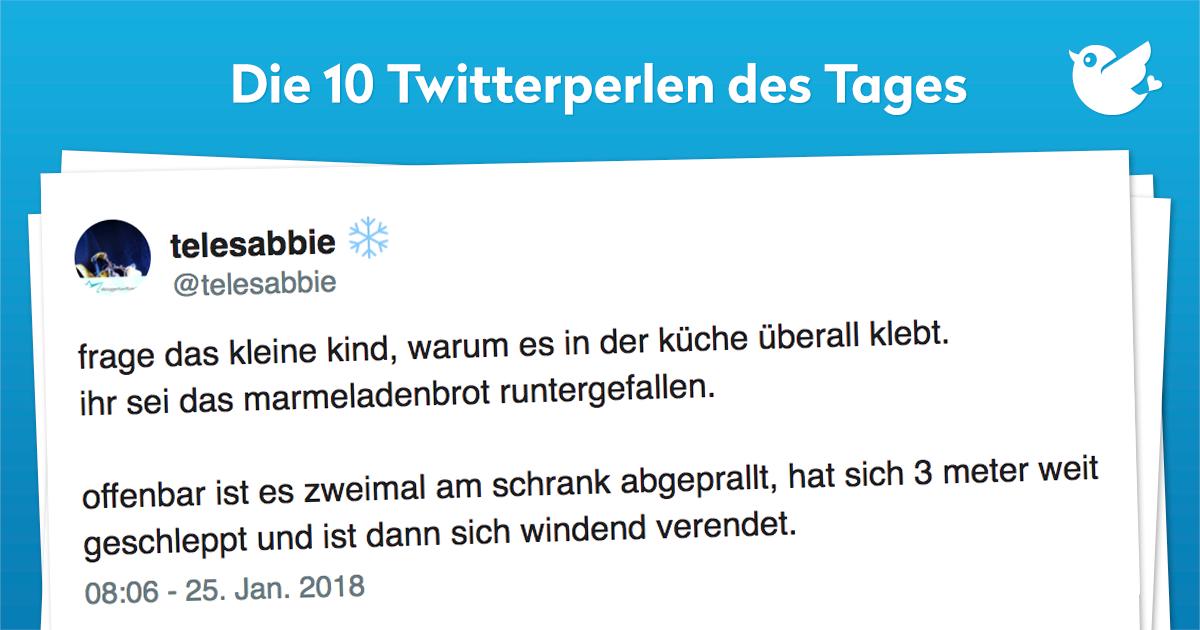 Die 10 Twitterperlen vom 25. Januar 2018
