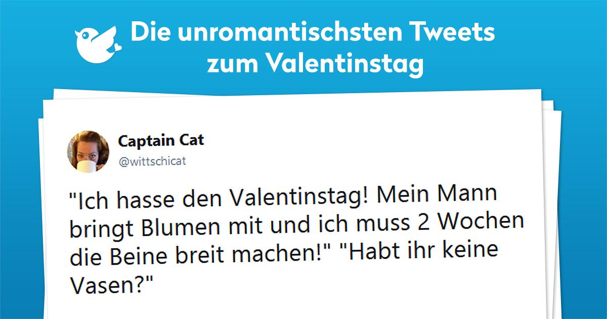 Valentinstag 13 Unromantischsten Tweets Twitterperlen