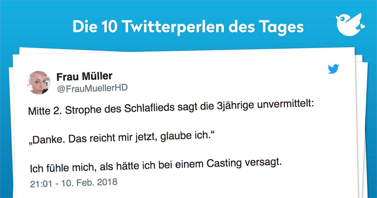 Die 10 Twitterperlen vom 11. Februar 2018