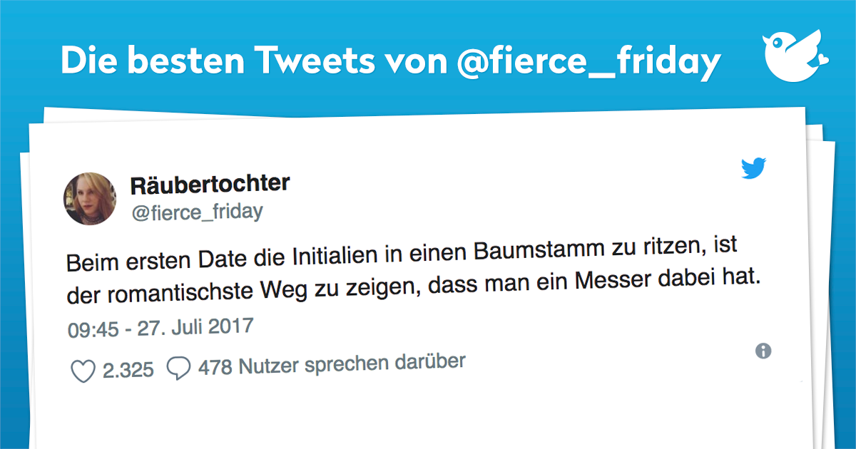 Die besten Tweets von @fierce_friday