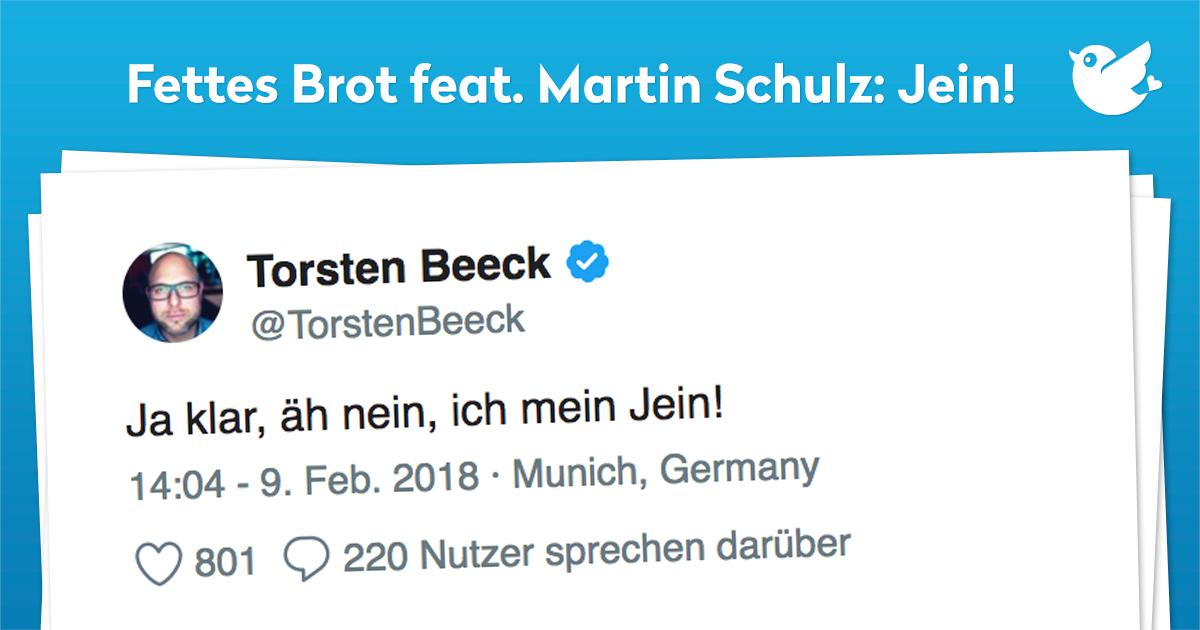 Fettes Brot feat. Martin Schulz: Jein!