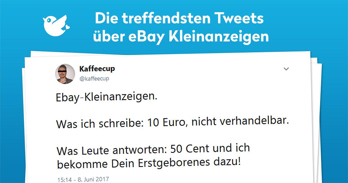 Ebay Kleinanzeigen 8 Lustigste Tweets Twitterperlen