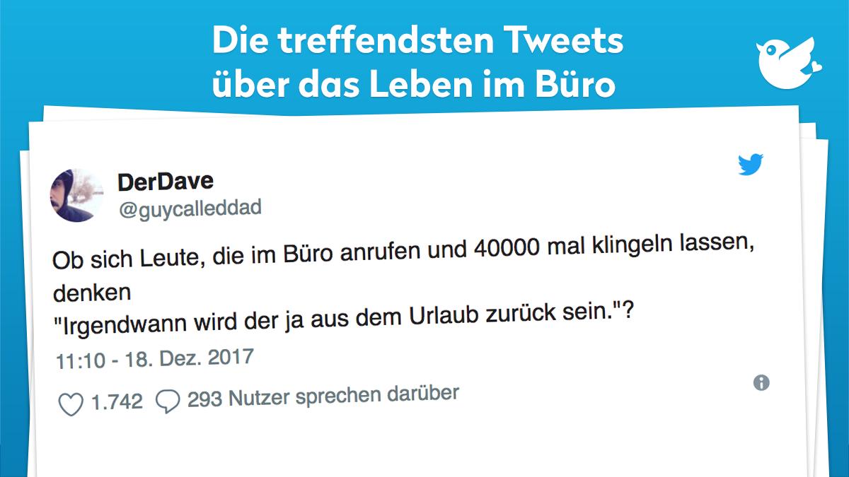 Die Treffendsten Tweets Uber Das Leben Im Buro Twitterperlen