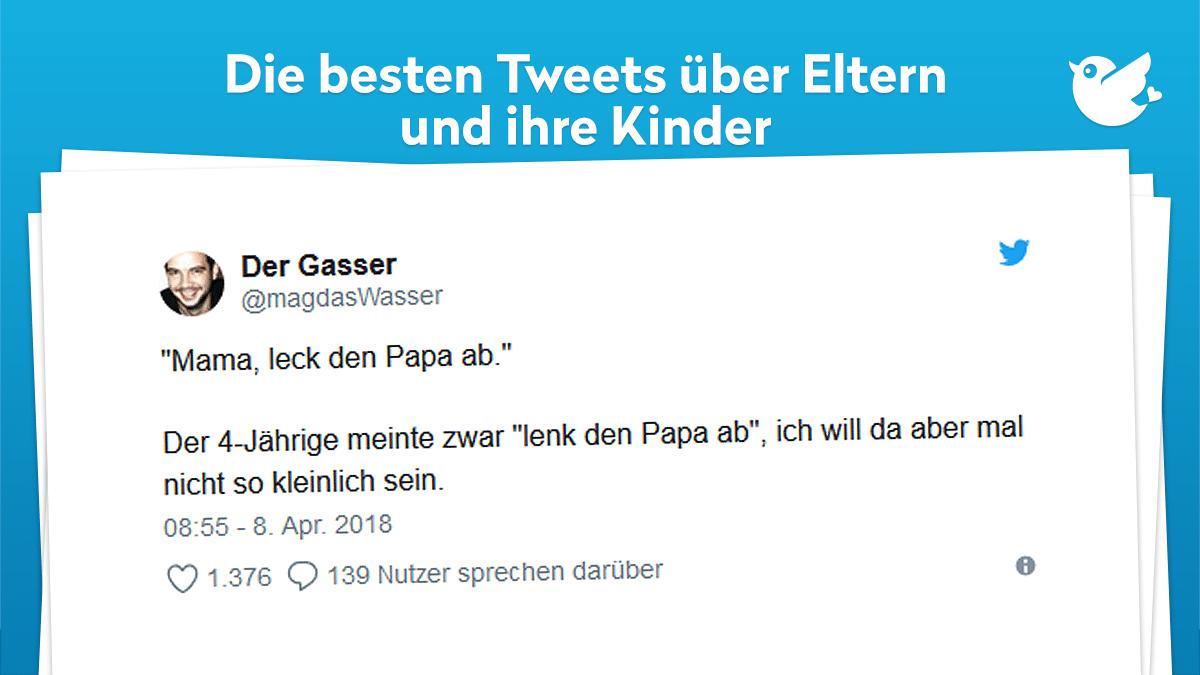 11 witzige Tweets über Eltern und ihre Kinder