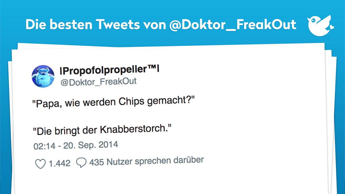 Die besten Tweets von @Doktor_FreakOut