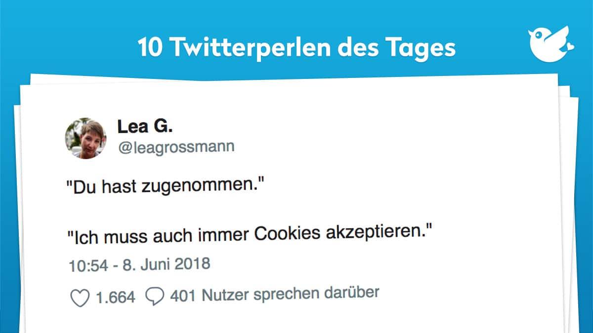 Die Twitterperlen vom 09. Juni 2018