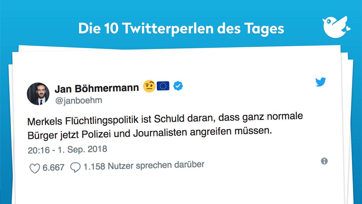 Twitterperlen Des Tages Vom 02 September 2018 Twitterperlen