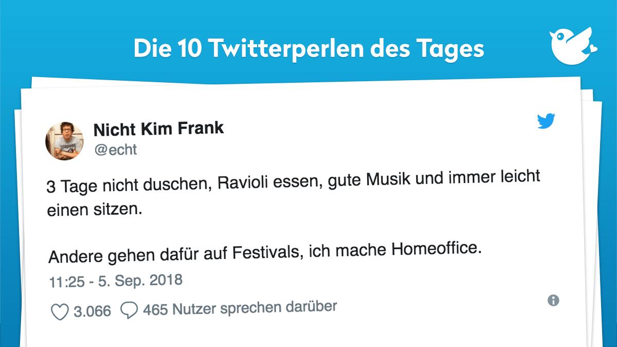 Twitterperlen Des Tages Vom 10 September 2018 Twitterperlen