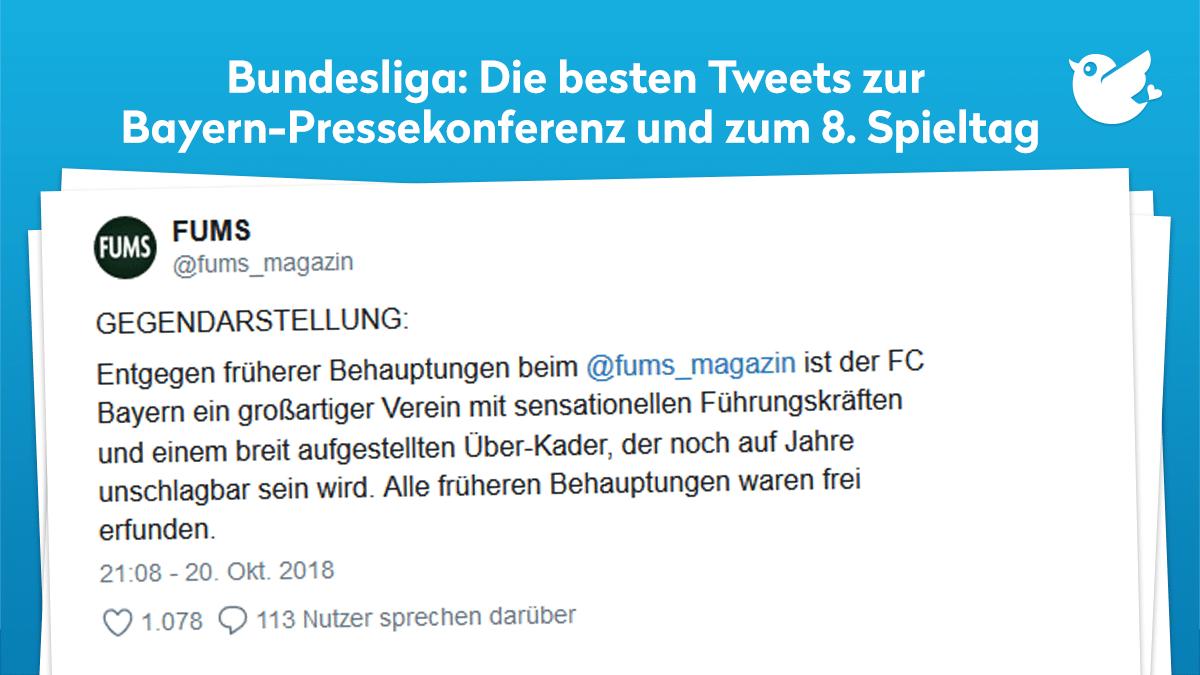 Fussball Bundesliga Die Bayern Pressekonferenz Und Der 8