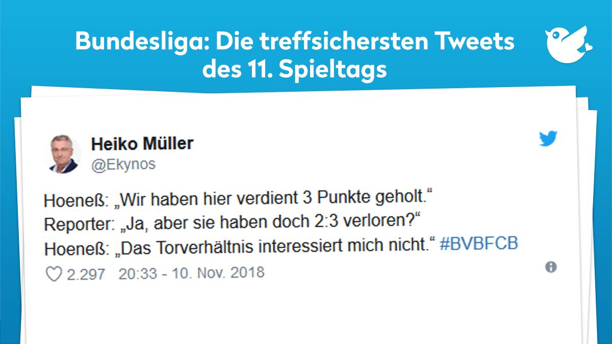 Fussball Bundesliga Der 11 Spieltag Im Netz Twitterperlen