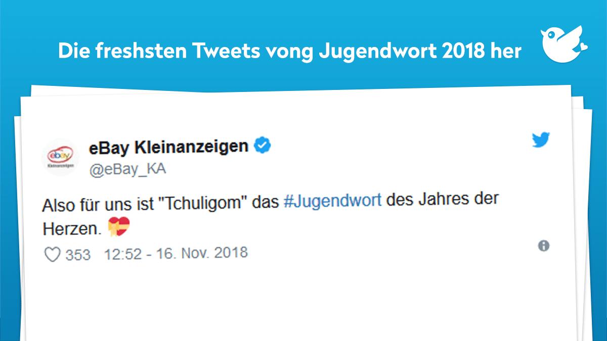 Ehrenmann Ehrenfrau Sheeeesh Das Jugendwort 2018 Voll Verbuggt