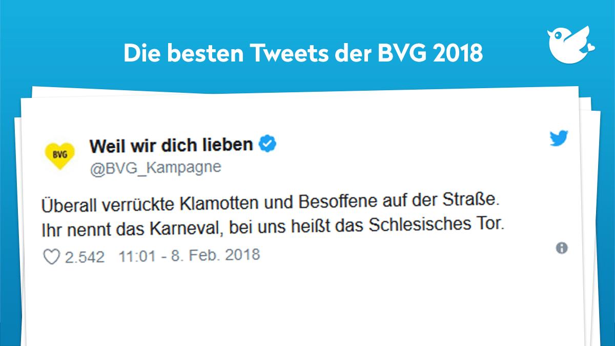 Weil Wir Sie Lieben Die Besten Tweets Der At Bvgkampagne 2018