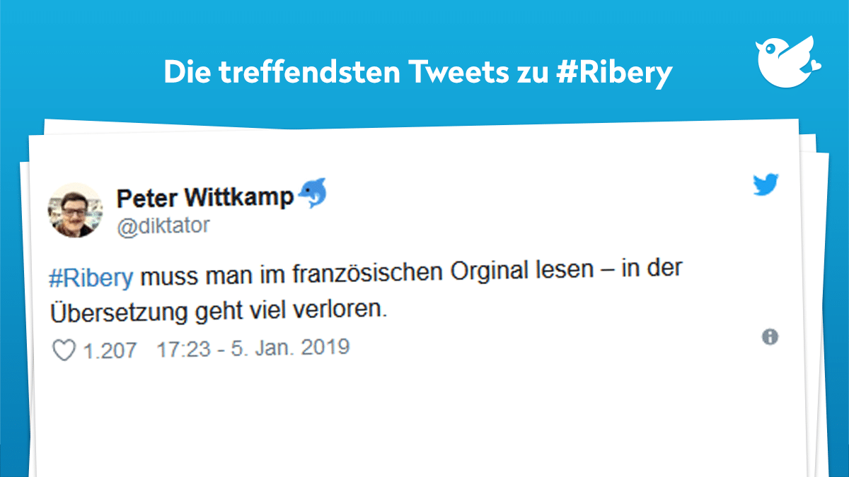 Ribery Nicht Alles Gold Was Glanzt Twitterperlen