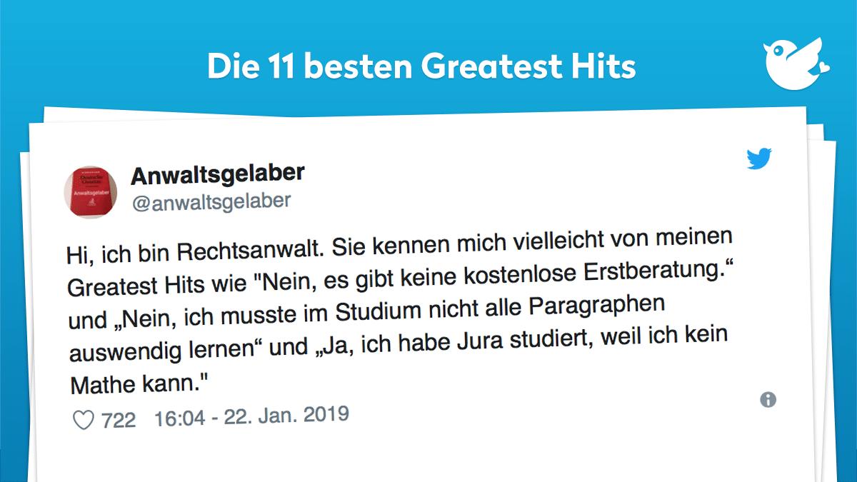 Die 11 Besten Greatest Hits Twitterperlen
