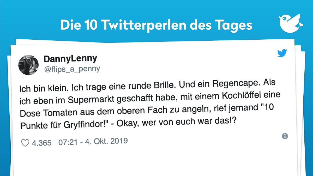 Die Twitterperlen des Tages vom 5. Oktober 2019