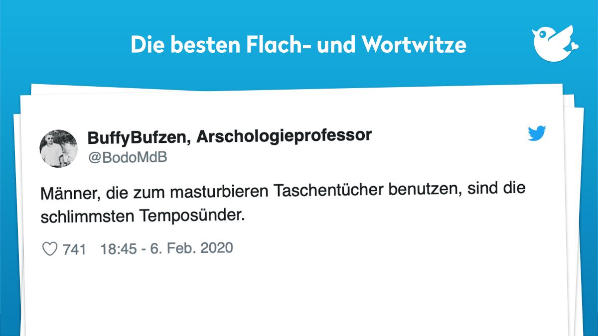 Bester flachwitz