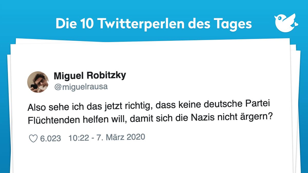 Die Twitterperlen Des Tages Vom 8 Marz 2020 Twitterperlen