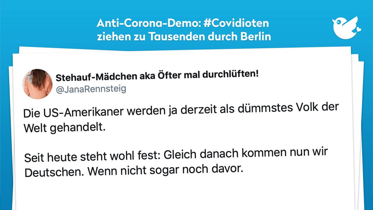Berlin Demo Gestern