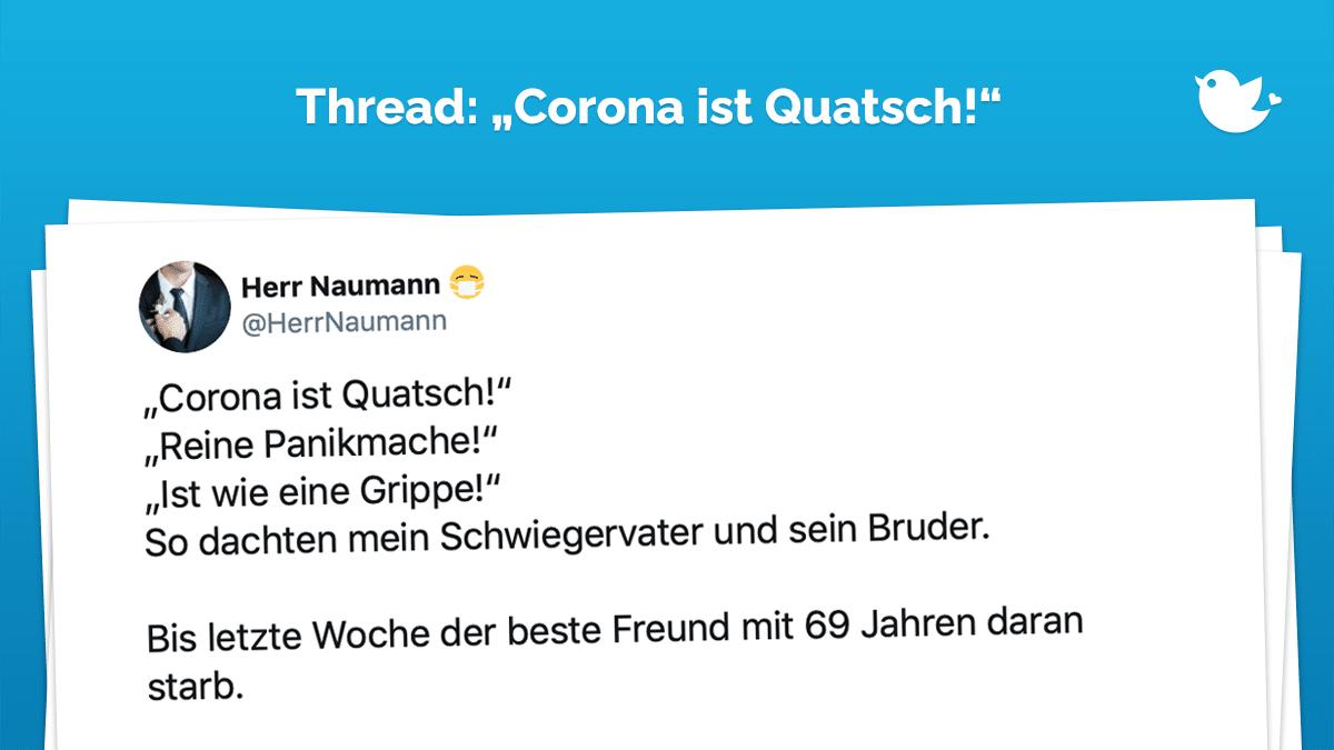 Corona Quatsch
